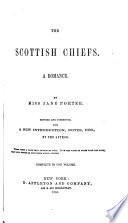The Scottish Chiefs A Romance