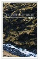 The Teacher S Outline Study Bible