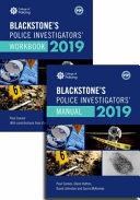Blackstone s Police Investigators  Manual and Workbook 2019
