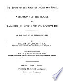 A Harmony of the Books of Samuel, Kings and Chronicles