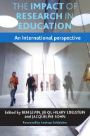 The Impact Of Research In Education