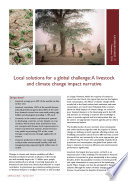 Local Solutions For A Global Challenge A Livestock And Climate Change Impact Narrative