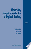 Electricity Requirements for a Digital Society