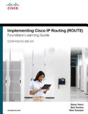 Cover of Implementing Cisco IP Routing (ROUTE) Foundation Learning Guide