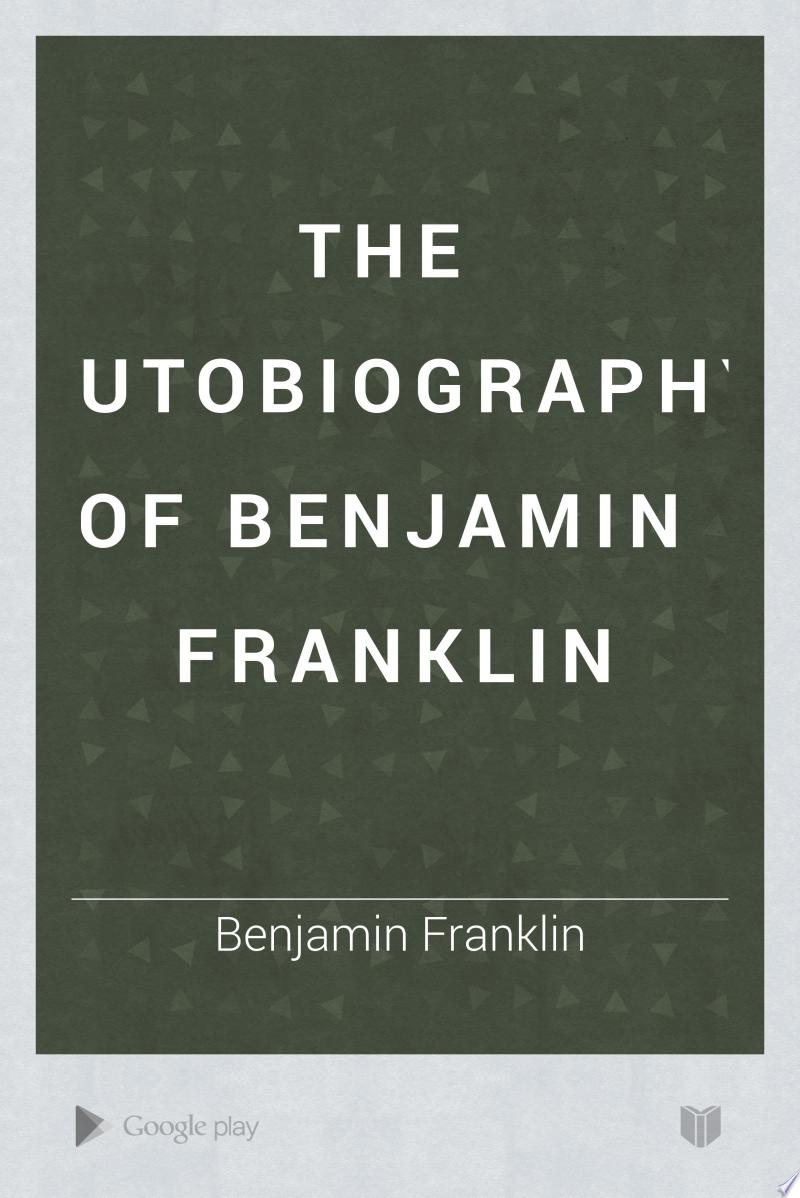 The Autobiography of Benjamin Franklin banner backdrop