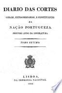 Diario das cortes geraes e extraordinarias da nacão portugueza: August 1, 1822-September 30, 1822