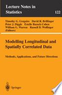 Modelling Longitudinal and Spatially Correlated Data