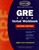 GRE Exam Verbal Workbook