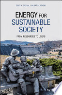 Energy for Sustainable Society Book