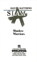 Shadow Warriors Book
