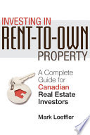 Investing in Rent to Own Property Book