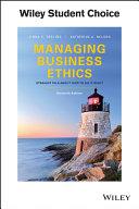 Managing Business Ethics