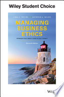 """""""Managing Business Ethics: Straight Talk about How to Do It Right"""" by Linda K. Trevino, Katherine A. Nelson"""