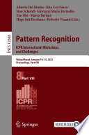 Pattern Recognition  ICPR International Workshops and Challenges Book