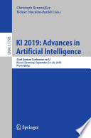 KI 2019  Advances in Artificial Intelligence