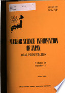 Nuclear Science Information of Japan