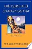 Nietzsche s Zarathustra Book PDF