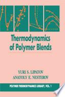 Thermodynamics of Polymer Blends  Volume I