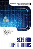 Cover image of Sets and computations