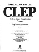 Preparation for the CLEP, College-Level Examination Program