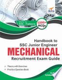 Handbook to SSC JE Mechanical