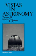 Vistas in Astronomy [Pdf/ePub] eBook
