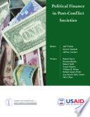 Political Finance in Post Conflict Societies Book