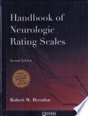 Handbook of Neurologic Rating Scales  2nd Edition
