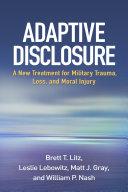 Pdf Adaptive Disclosure