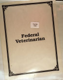The Federal Veterinarian