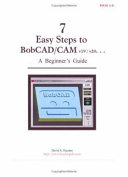 7 Easy Steps to BobCAD/CAM V19/v20... a Beginner's Guide