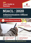 Pdf NIACL Administrative Officer (AO) 2020 |14 Mock Test | Latest Edition Practice Kit