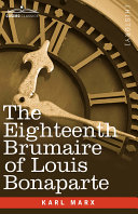 The Eighteenth Brumaire of Louis Bonaparte Pdf
