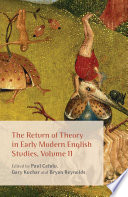The Return of Theory in Early Modern English Studies