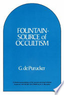 Fountain-source of Occultism