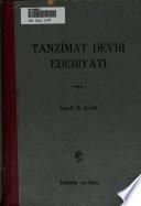 Tanzimat devri edebiyatı