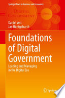 Foundations Of Digital Government