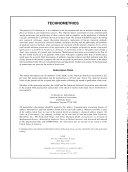 Technometrics Book
