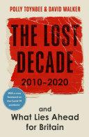 The Lost Decade Pdf/ePub eBook