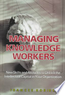 Managing Knowledge Workers Book PDF