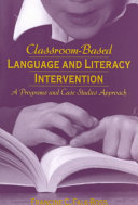 Classroom based Language and Literacy Intervention
