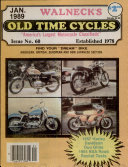 WALNECK S CLASSIC CYCLE TRADER  JANUARY 1989