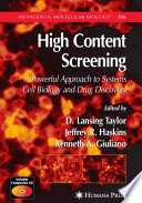High Content Screening Book