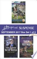 Harlequin Love Inspired Suspense September 2017 Box Set 1 Of 2