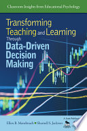 Cover of Transforming Teaching and Learning Through Data-Driven Decision Making