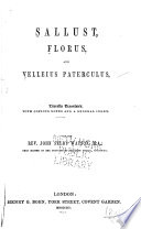 Sallust, Florus, and Velleius Paterculus