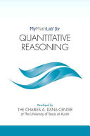 Mymathlab for Quantitative Reasoning -- Student Access Kit