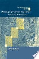 Managing Further Education Book PDF