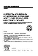 Chemistry and Biology of Naturally occurring Acetylenes and Related Compounds  NOARC  Book