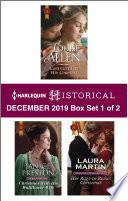 Harlequin Historical December 2019 Box Set 1 Of 2